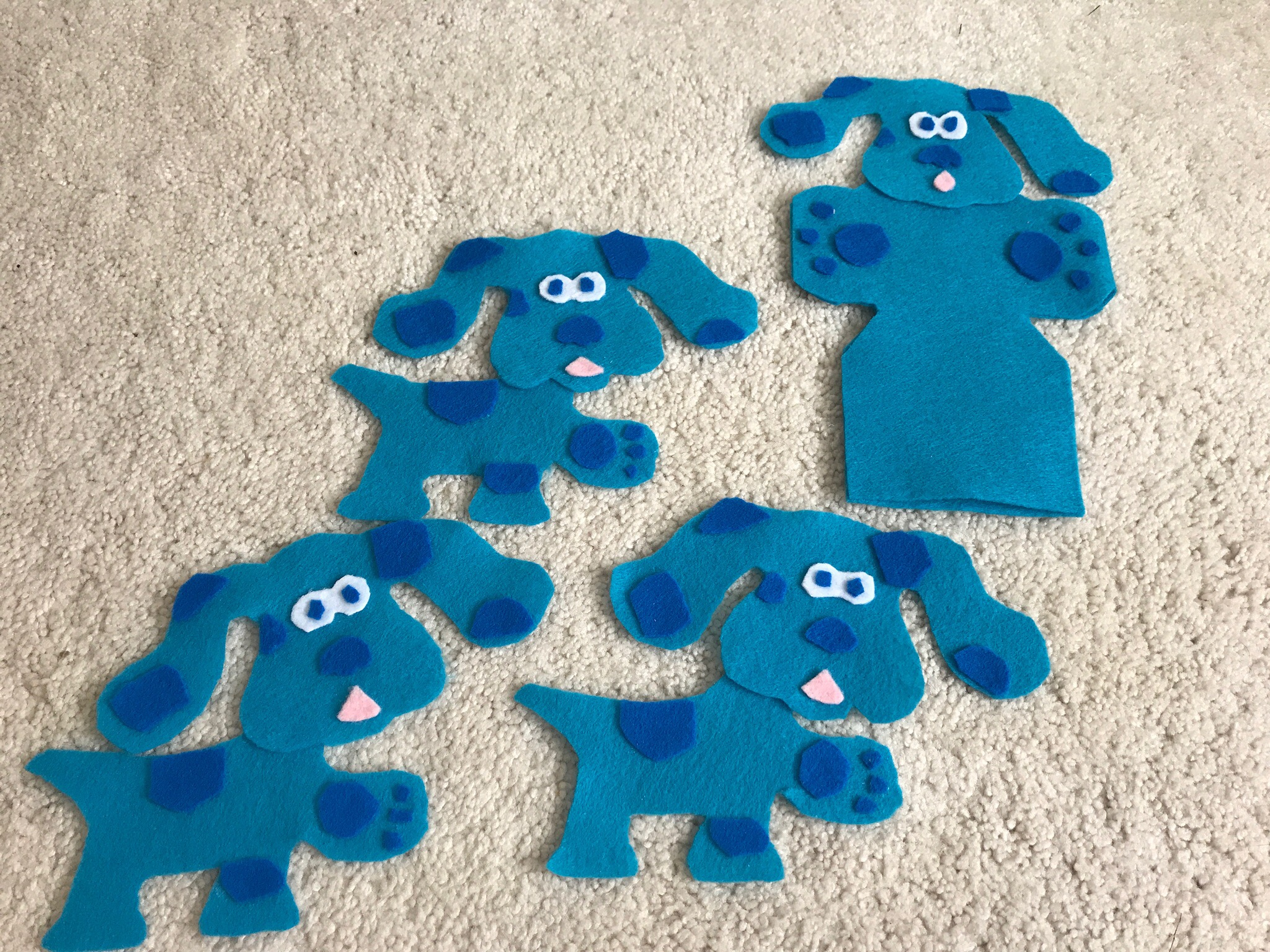 diy blue u0027s clues birthday party part 2 precious paws