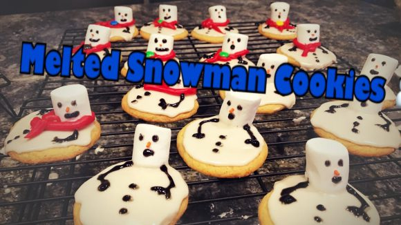 Melted Snowman Cookies ??