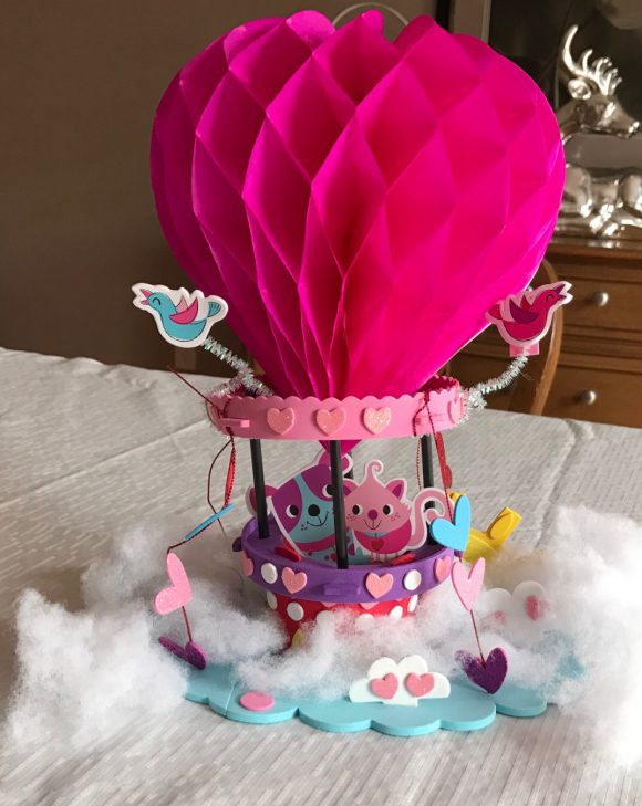 Valentine's Hot Air Ballon Craft Kit
