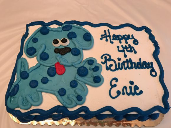 DIY Blue's Clues Birthday Party